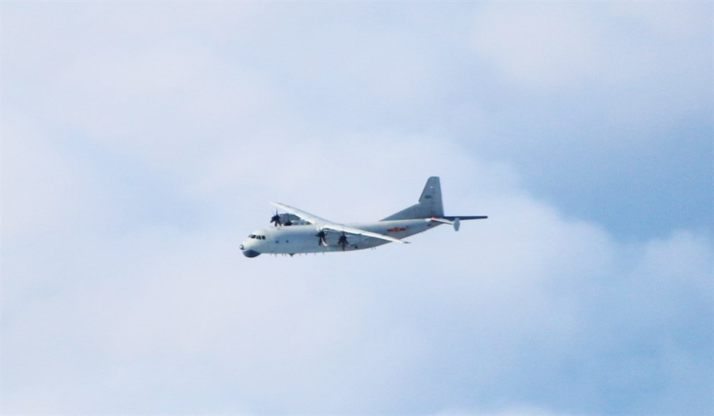 圖為運8反潛機同型機
