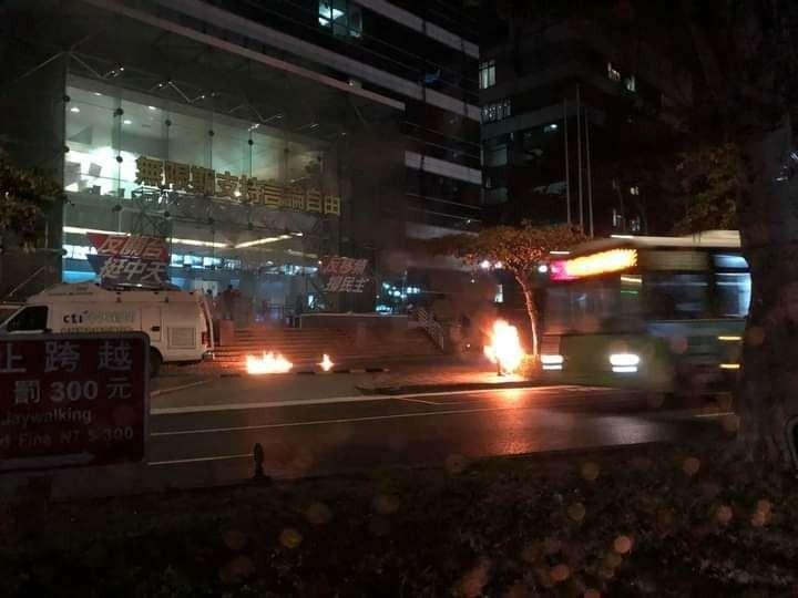 Taiwanese man self immolates to protest closure of pro-China CTi News