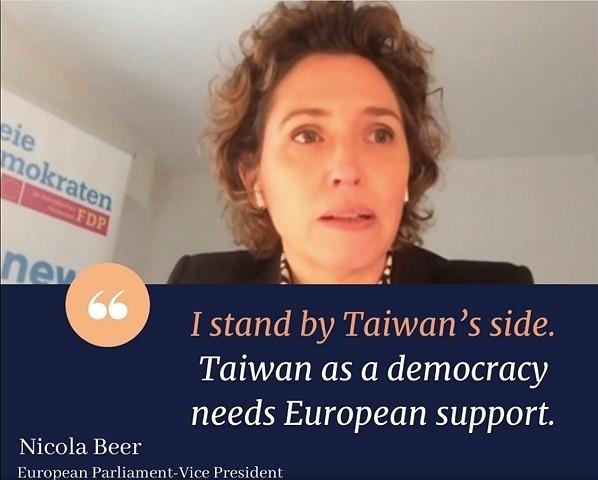 Taiwan cannot become the next Hong Kong: European parliamentarian