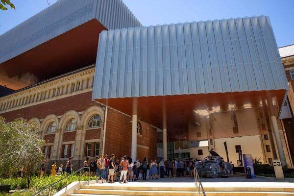 WA Museum Boola Bardip officially opened on Nov. 21. (Facebook,WA Museum Boola Bardip photo)