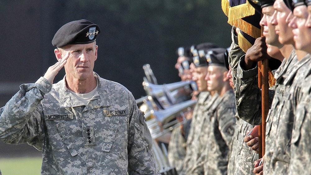 Joe Biden adviser Stanley McChrystal.
