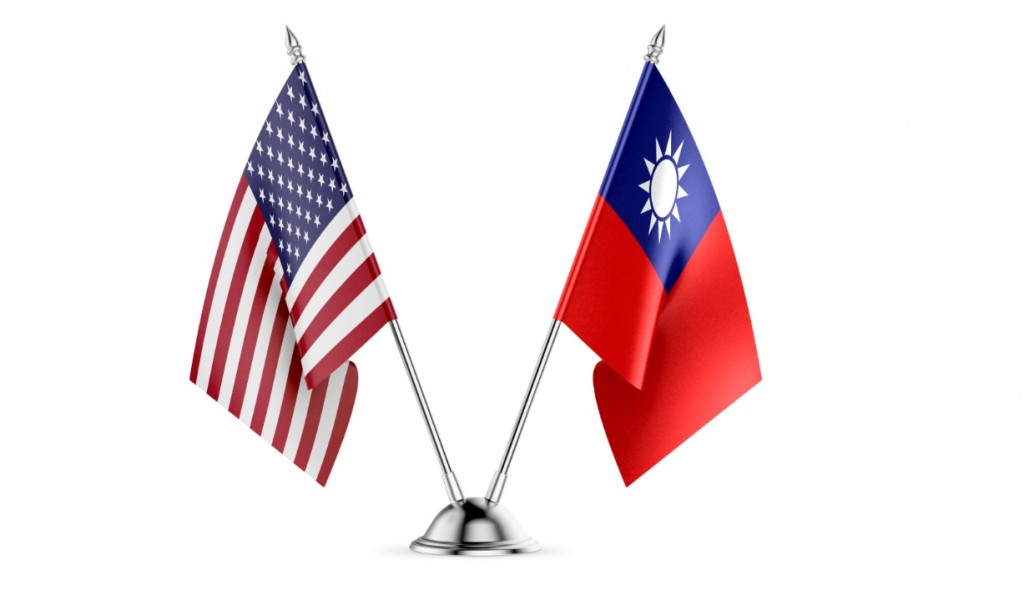 U.S., Taiwan flags (Getty Images)