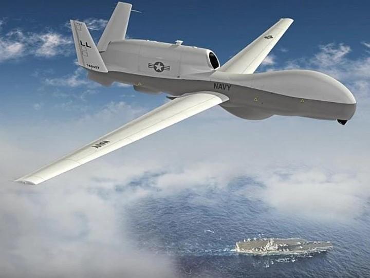 MQ-4C Triton. (Northrup Grumman image)