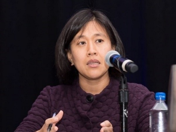 U.S. Trade Representative Katherine Tai. (US-China Business Council photo)