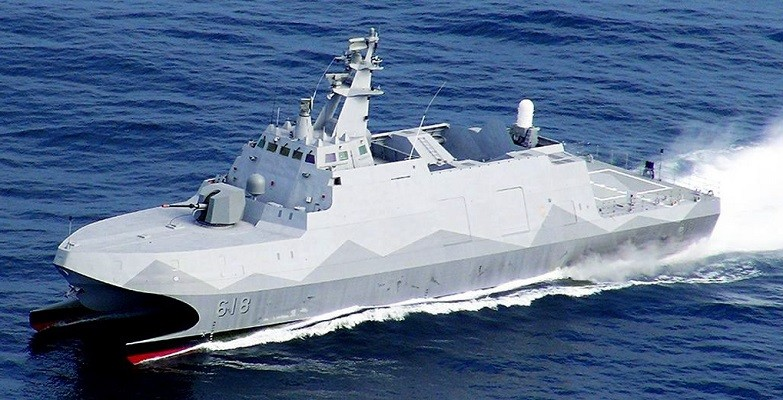 Tuo Chiang-class guided-missile corvette. (Lungteh image)
