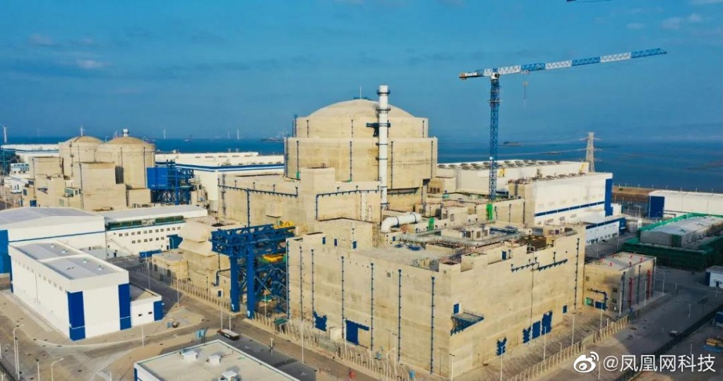 Fuqing Nuclear Power Plant. (Weibo photo)