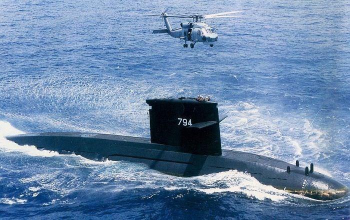 Taiwan's Chien Lung submarine