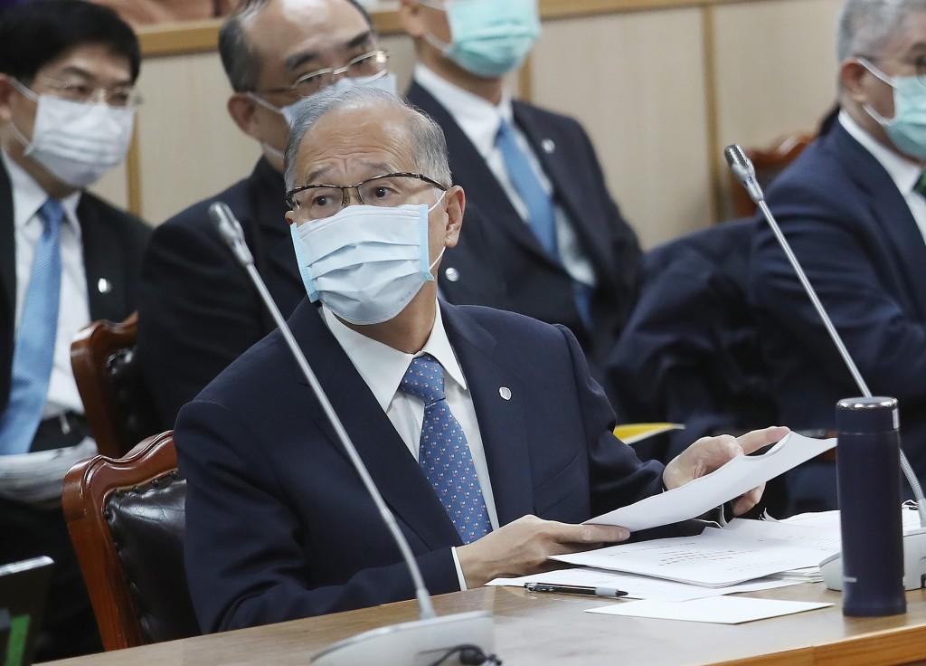 Presidential Office headDavid Lee atLegislative Yuan Thursday