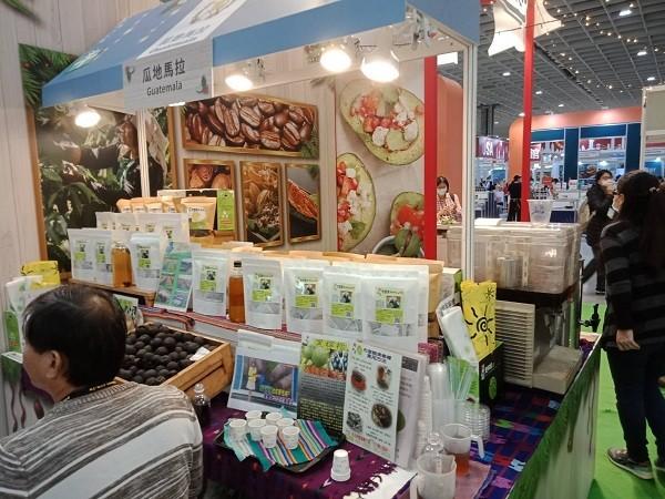 Central America Pavilion shines at Food Taipei 2020