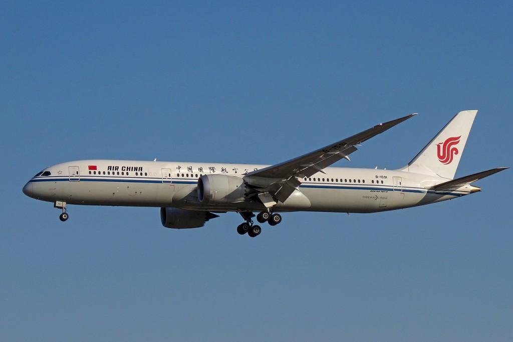 Air China Boeing 787-9.