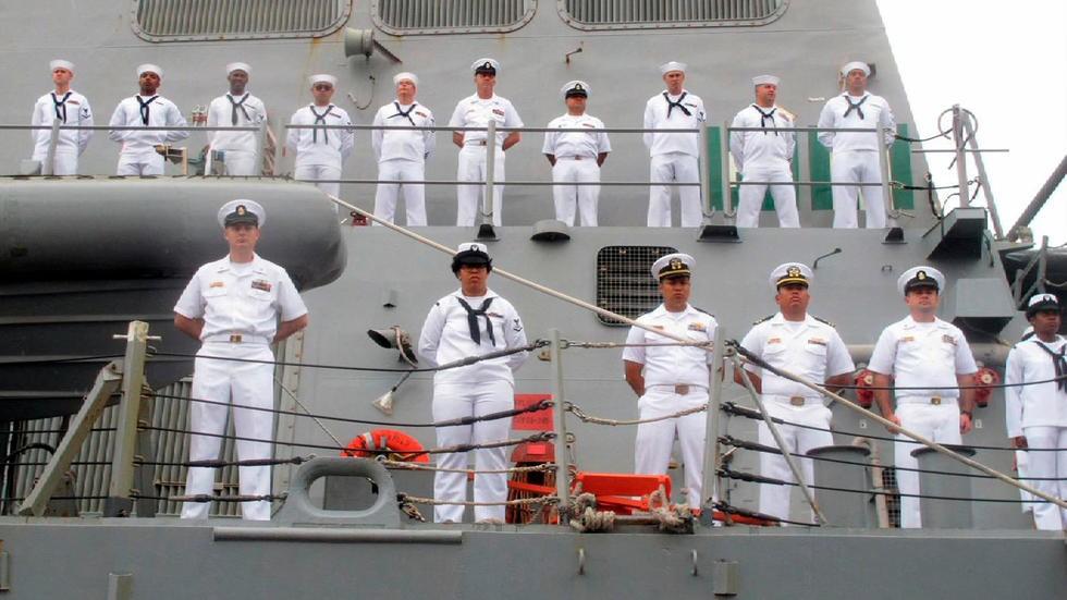 美國軍方表示,未來其海軍戰艦將更加果斷,以應對違反國際法者,如俄羅斯與中國。(圖/美聯社)