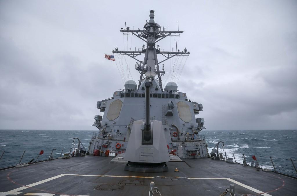 The USS Mustin (US Navy 7th Fleet photo)