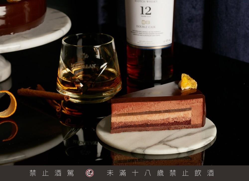 慕軒飯店冬日微醺夜 品麥卡倫嚐Lady M威士忌巧克力慕斯 只有兩天!