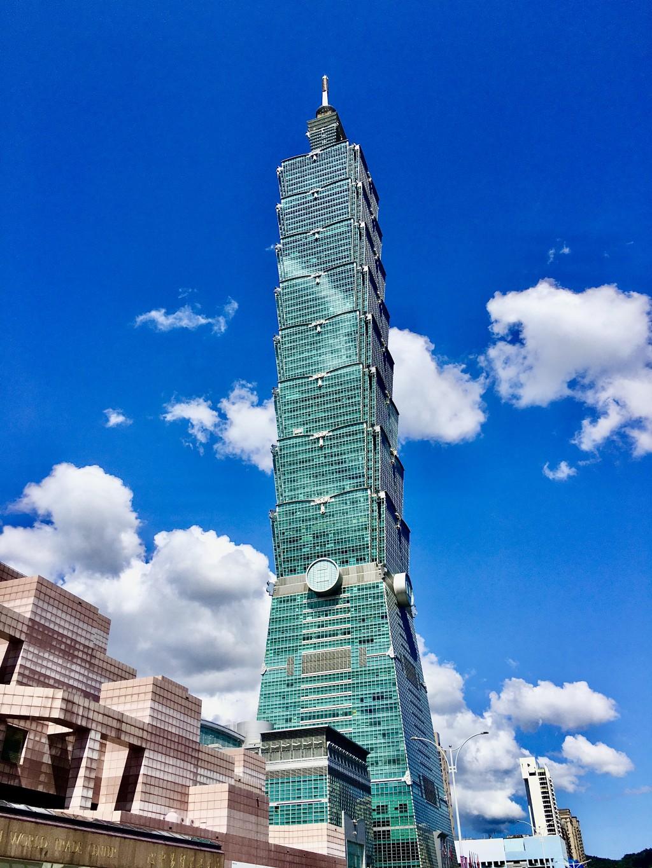 Taipei 101 and Taipei World Trade Center. (Taiwan News, Jules Quartly photo)
