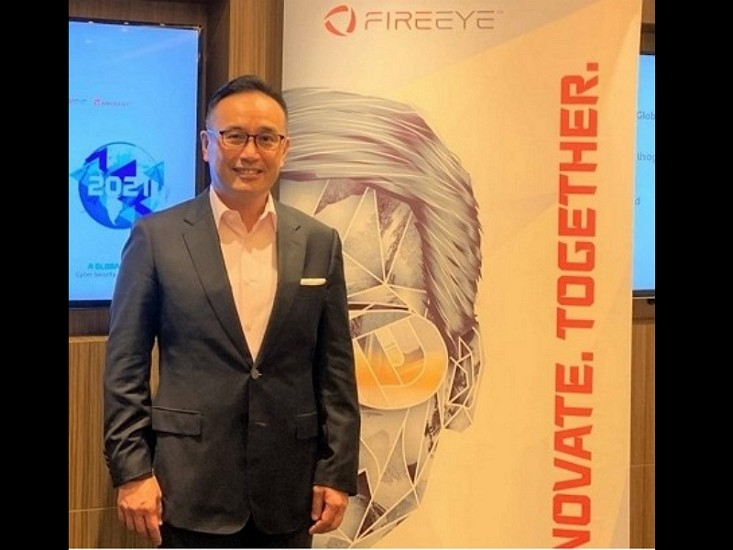 Michael Chue, Vice President and General Manager ofFireEye's North Asia branch(FireEye photo)