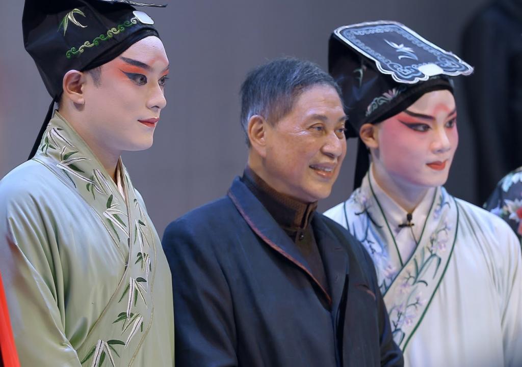 《牡丹還魂-白先勇與崑曲復興》將於2021年1月15日台北國賓影城上映。(圖/主辦單位)
