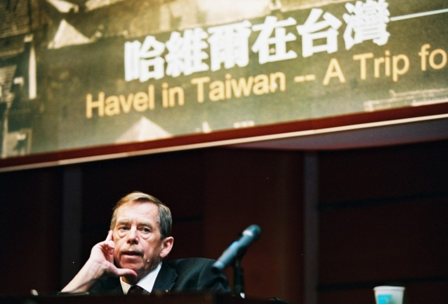 Late Czech President Vaclav Havel (Maysing Yang photo)