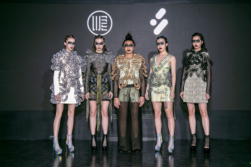 Taiwanese fashion designer's new collection features scrap metal