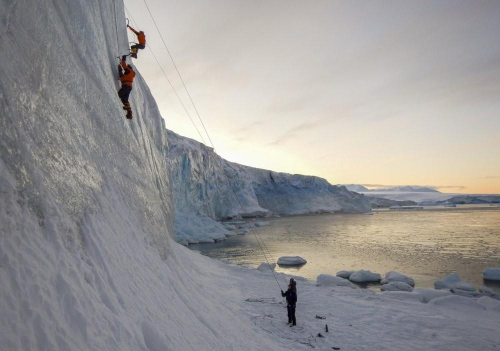 南極英國研究人員(圖/美聯社)