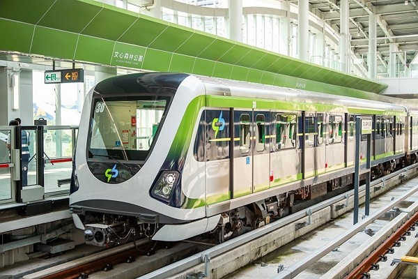Commercial operations of Taichung MRT Green Line suspended due to train malfunction.