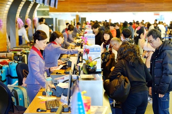 Taiwan's application to provideU.S. customs at Taoyuan International Airport currently under review.