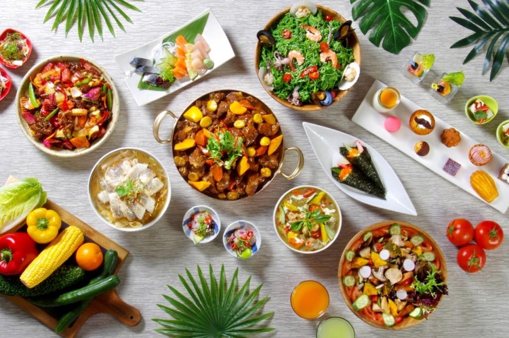 打造肉食天堂 台北花園大酒店「饗聚廚房」美式經典豬肋排大口吃肉大「塊」朵頤