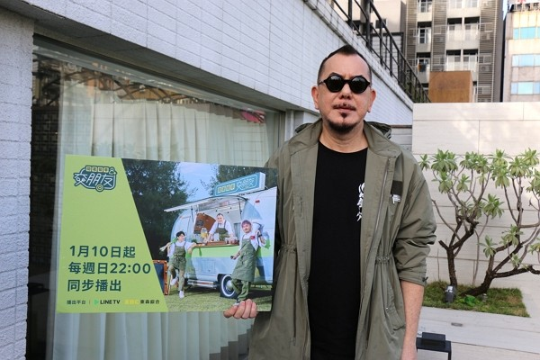 Hong Kong actor Anthony Wong. (Facebook, Friends by Food Truck photo)