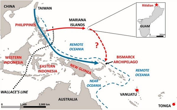 Ancient DNA reveals Guam ancestors migrated from Taiwan, Philippines