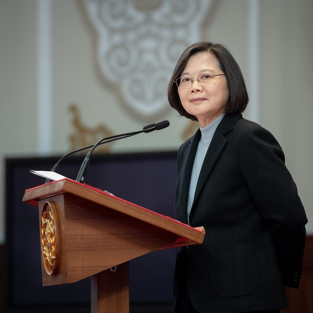 President Tsai Ing-wen (Facebook, Tsai Ing-wenphoto)