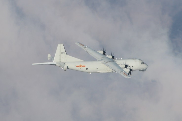 Chinese Y-8 ASW on Dec. 24 (MND photo)