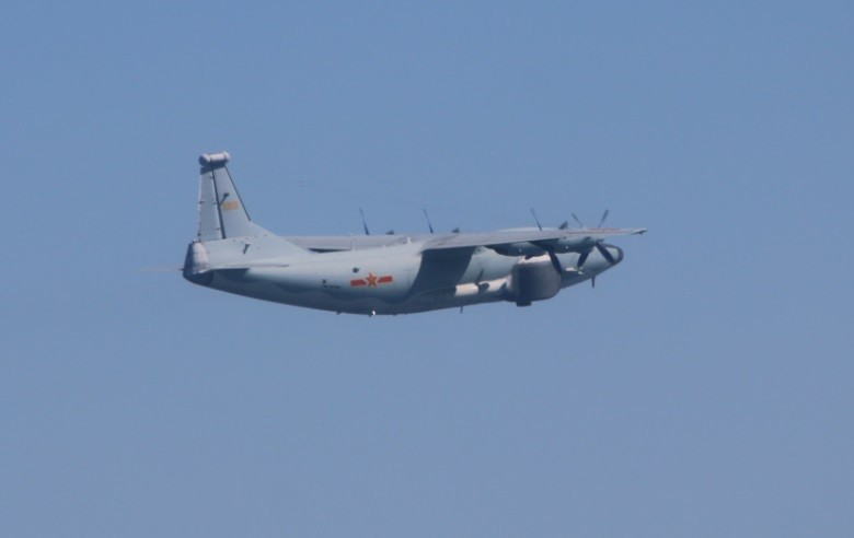 Two Chinese military aircraft intrude into Taiwan's ADIZ