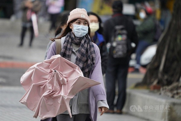 Cold temperatures forecast for New Year's Eve in parts of Taiwan