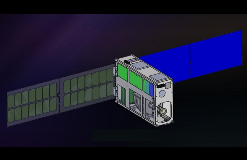 Design of 6U Fast Validation CubeSat (NSPO image)