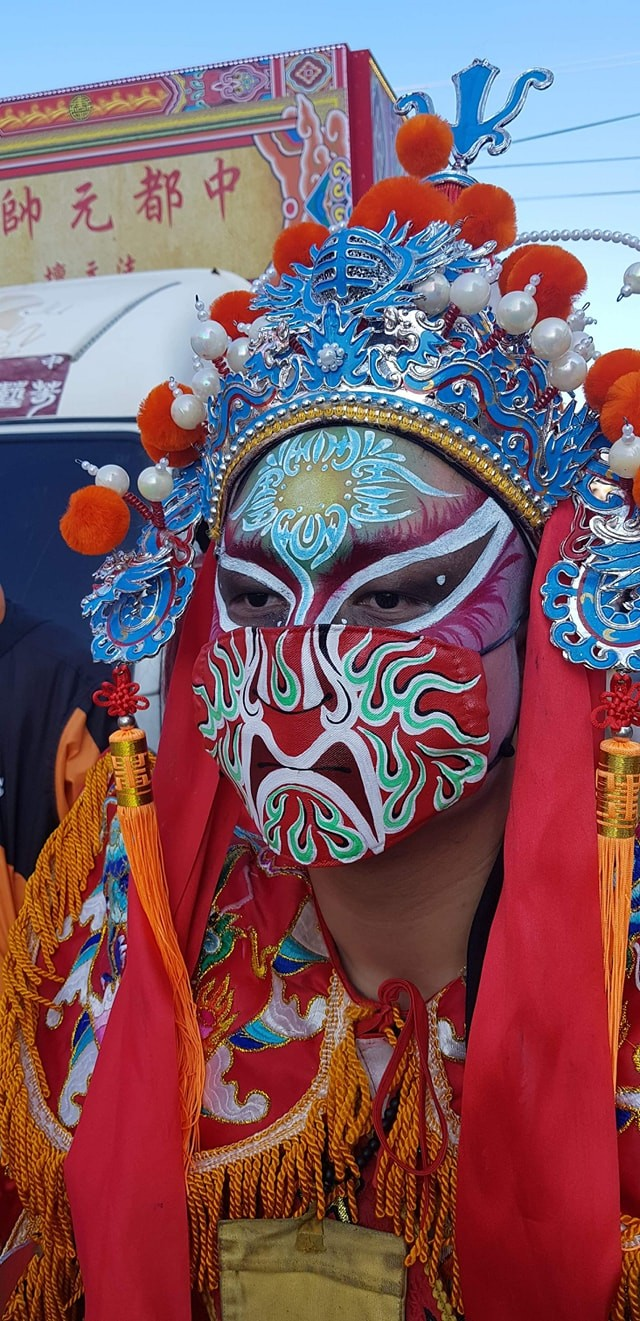 Photo of the Day: Even Taiwan's gods wear masks