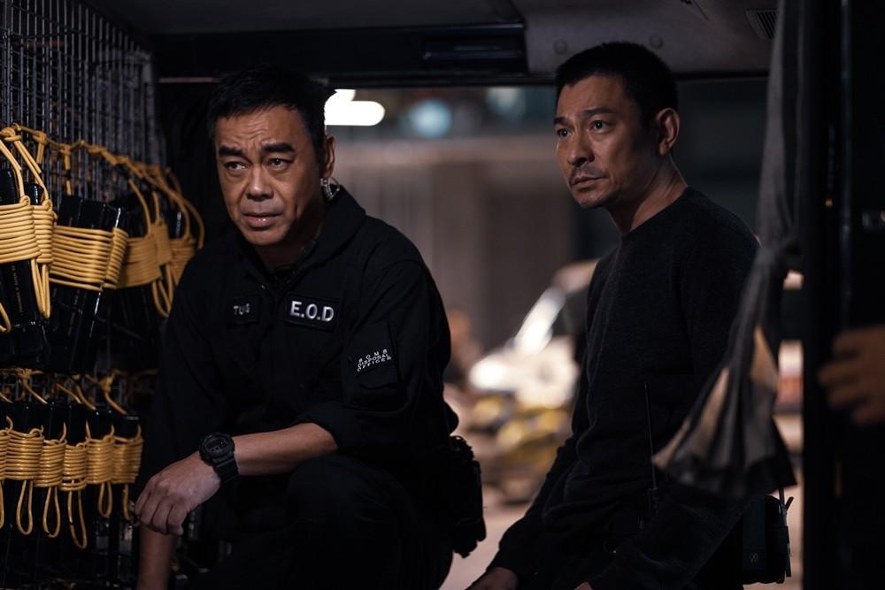 """Shock Wave 2"" wasreleased in Taiwanon Dec. 31. (Sky Films photo)"