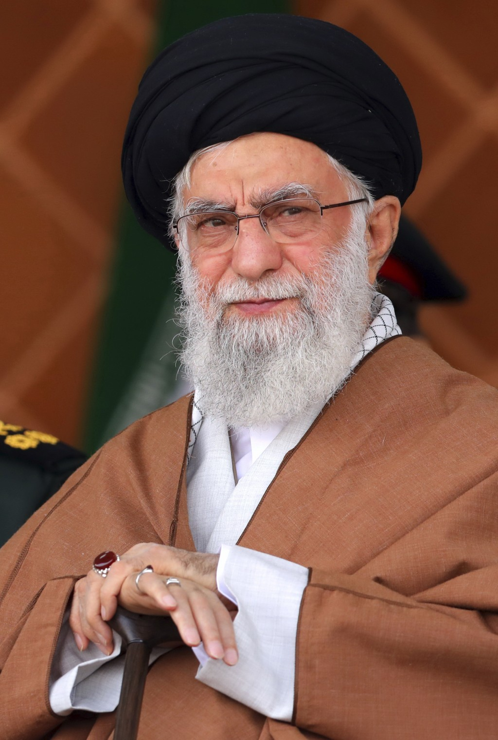 FILE - In this Oct. 30, 2019, file photo, released by an official website of the office of the Iranian supreme leader, Supreme Leader Ayatollah Ali Kh...