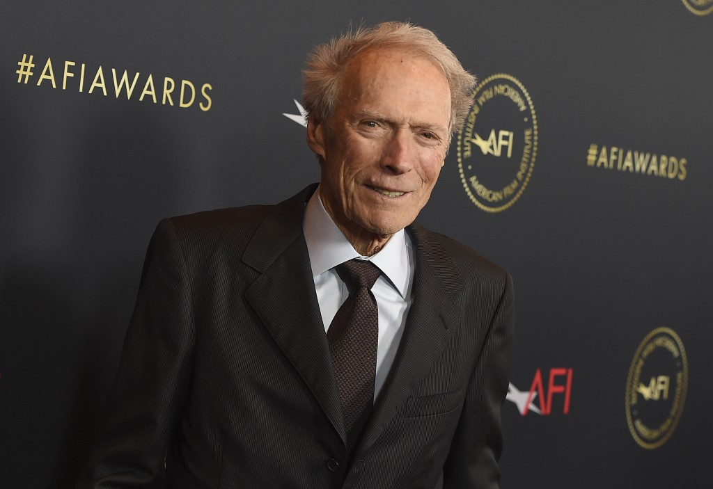 Clint Eastwood arrives at the 2020 AFI Awards at the Four Seasons on Friday, Jan. 3, 2020 in Los Angeles. (Photo by Jordan Strauss/Invision/AP)