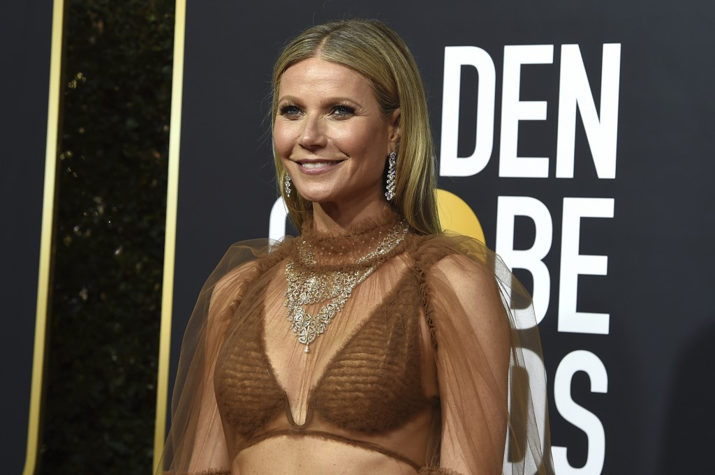 Gwyneth Paltrow arrives at the 77th annual Golden Globe Awards at the Beverly Hilton Hotel on Sunday, Jan. 5, 2020, in Beverly Hills, Calif. (Photo by...