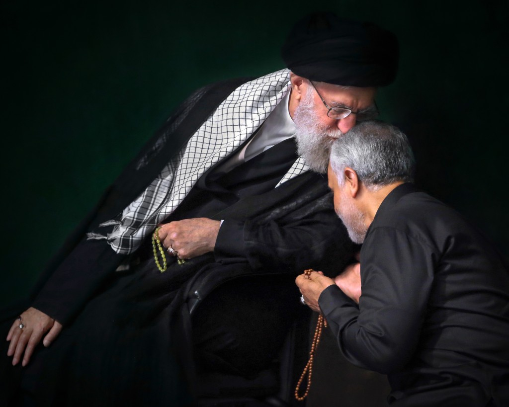 In this Sept. 19, 2018 photo, re-released Friday, Jan. 3, 2020, by an official website of the office of the Iranian supreme leader, Supreme Leader Aya...