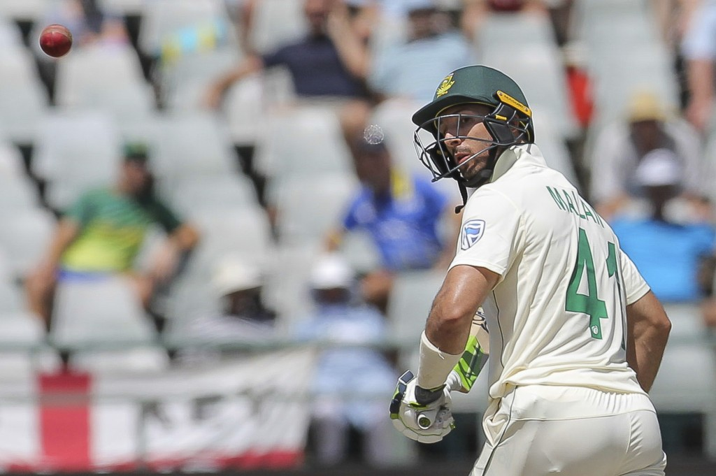 South African captain Pieter Malan in action during day five of the second cricket test between South Africa and England at the Newlands Cricket Stadi...