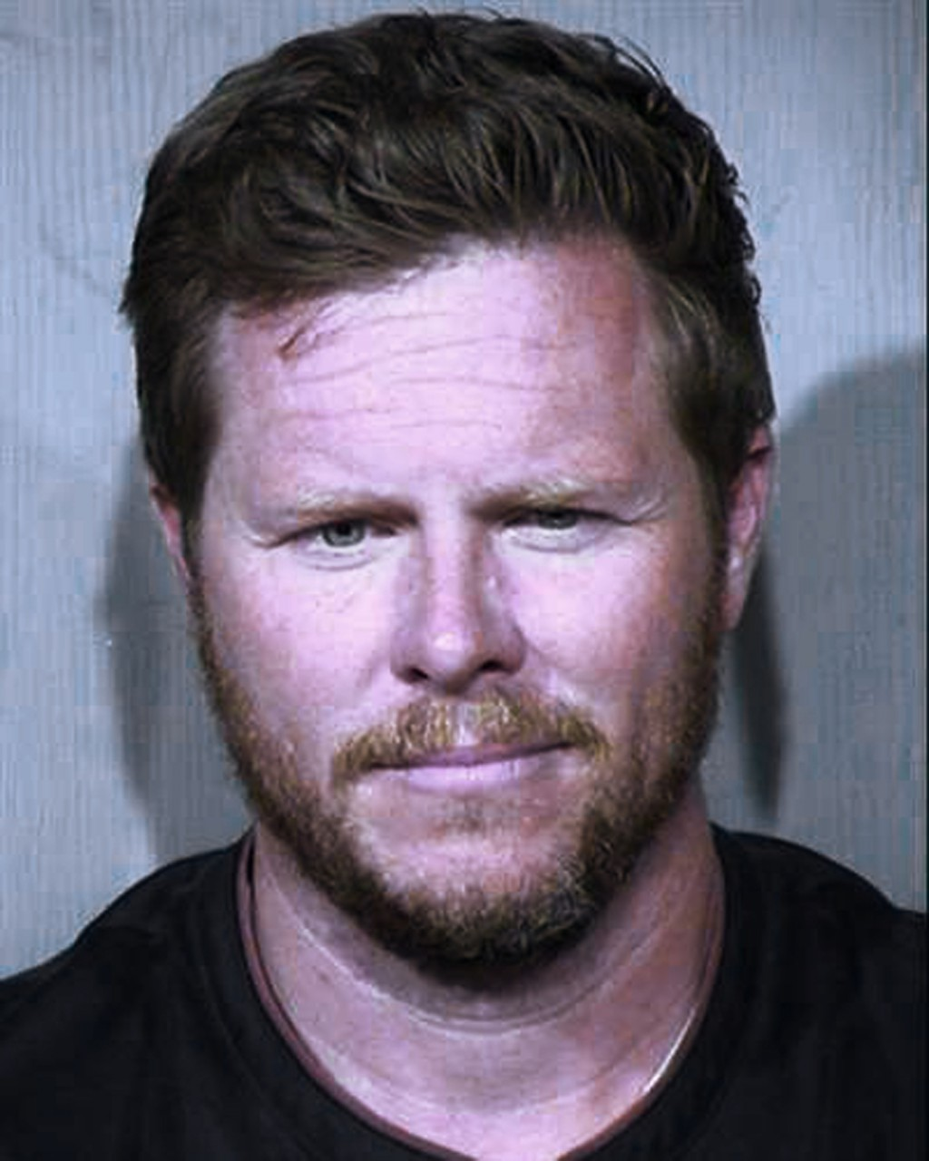 FILE - This undated booking photo provided by the Maricopa County Sheriff's Office shows County Assessor Paul Petersen. He resigned from his elected p...