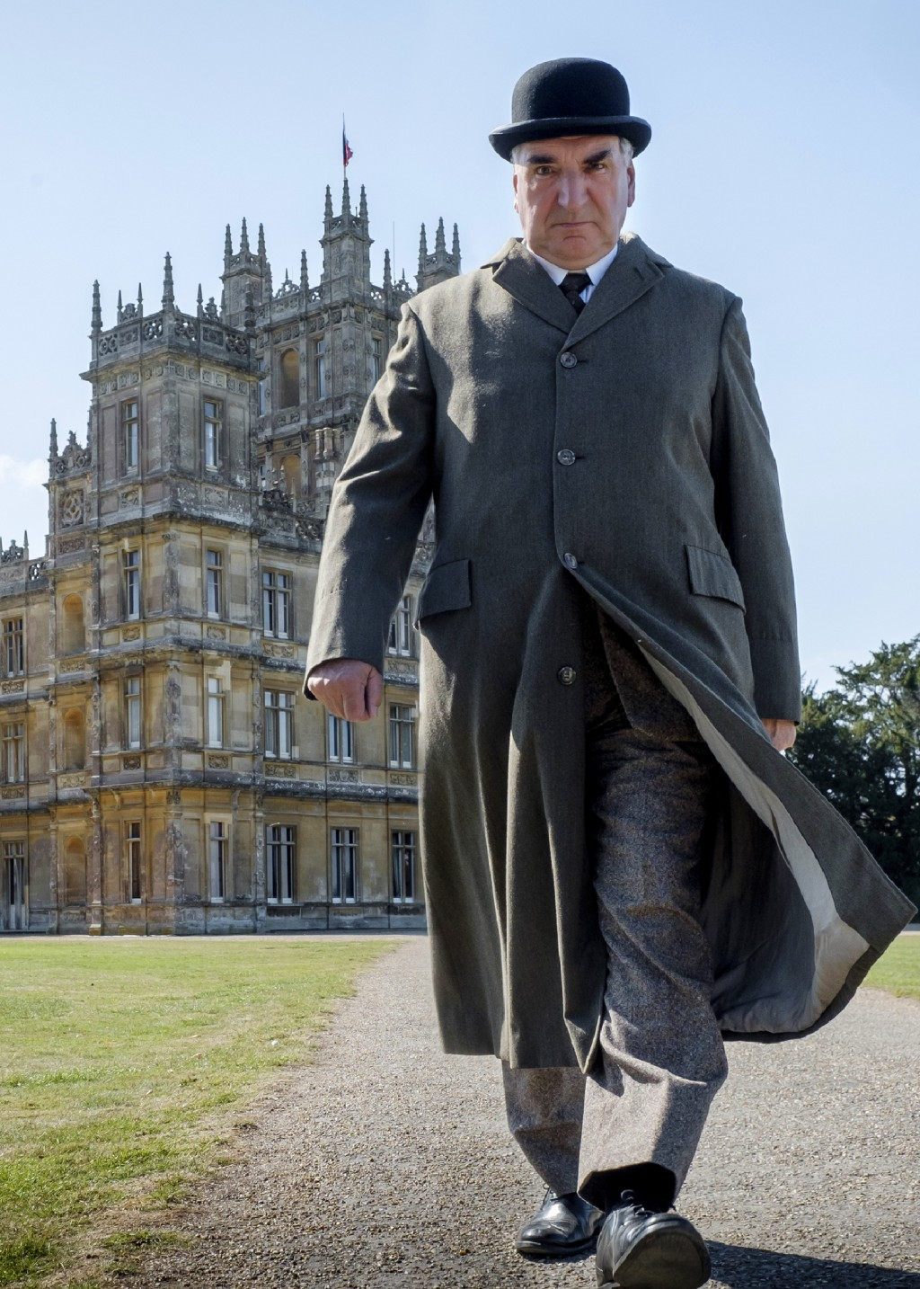 """This image released by Focus features shows Jim Carter as Mr. Carson in a scene from """"Downton Abbey."""" The film was nominated for a GLAAD Media Award f..."""