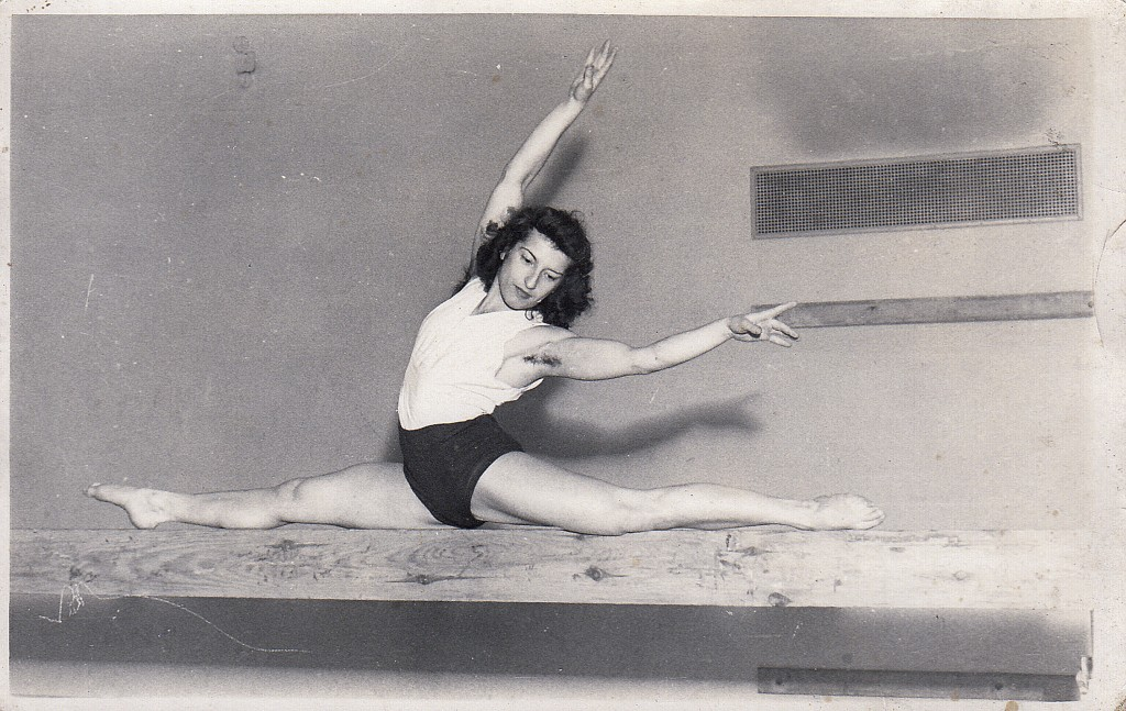 An undated family handout photo of Agnes Keleti, a former Olympic gold medal winning gymnast. Although she turned 99 on Thursday Jan. 9, 2020, even a ...