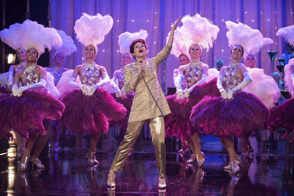 """This image released by Roadside Attractions shows Renée-Zellweger as Judy Garland in a scene from """"Judy."""" The film was nominated for a GLAAD Media Aw..."""