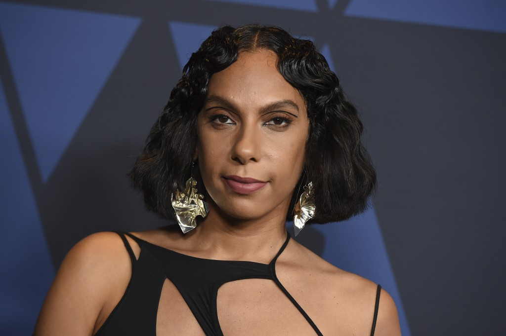 FILE - This Oct. 27, 2019 file photo shows director Melina Matsoukas at the Governors Awards in Los Angeles. Matsoukas will be honored at the 2020 Bla...