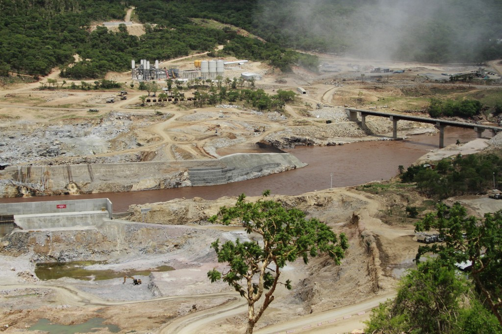 FILE - In this June 28, 2013 file photo, the Blue Nile river flows near the site of the Grand Ethiopian Renaissance Dam near Assosa, Ethopia. Two days...