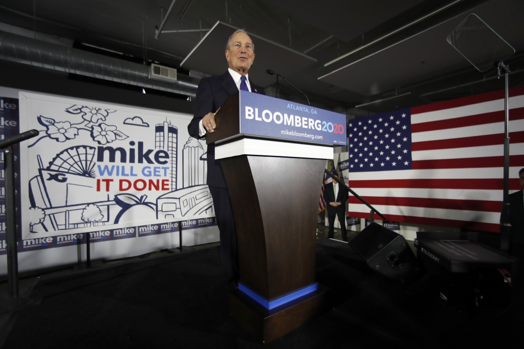 Big-spending Bloomberg campaign now has 1,000 staffers