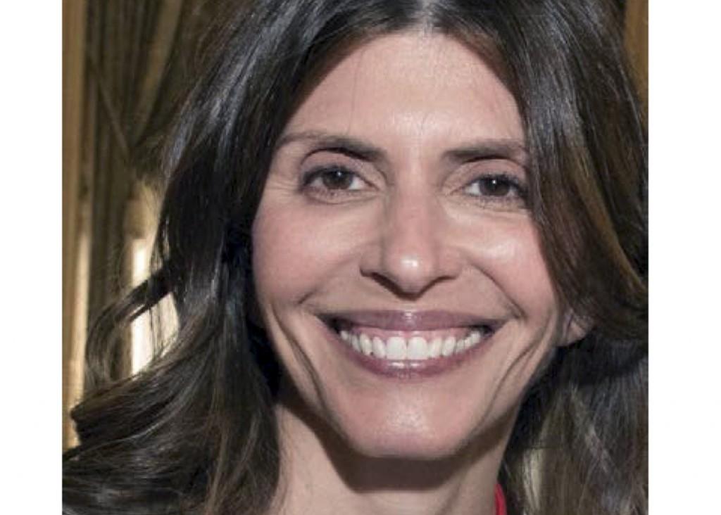 FILE - This undated file photo from a missing persons flier provided by the New Canaan Police Department shows Jennifer Dulos, mother of five who went...