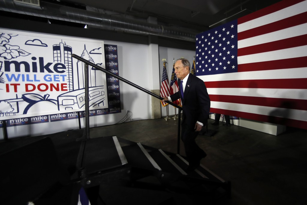 Bloomberg to provide campaign staff to whoever is the Democratic nominee