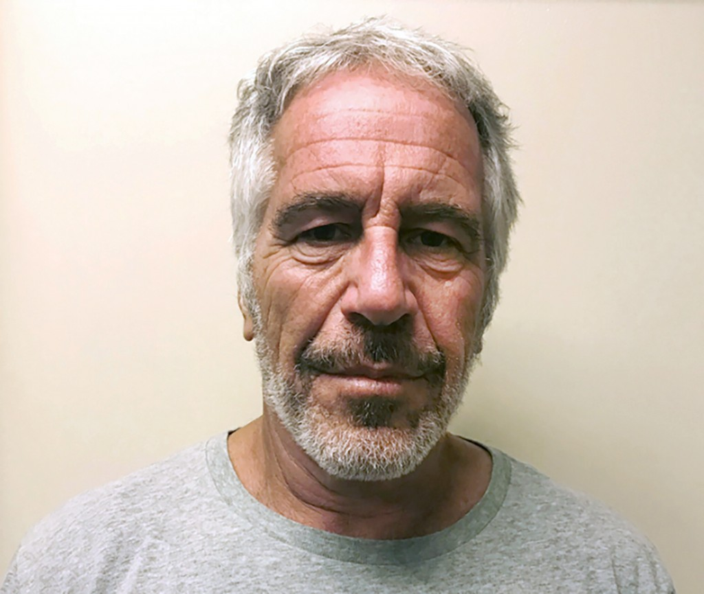 FILE - This March 28, 2017, file photo, provided by the New York State Sex Offender Registry, shows Jeffrey Epstein. Disgraced financier Jeffrey Epste...